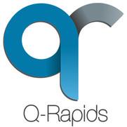 Small logo, text