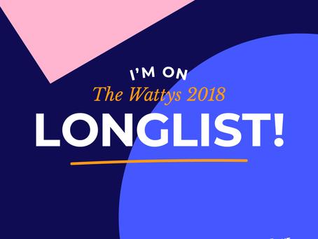 Nova Drasskun está na Longlist do Wattys Awards 2018!