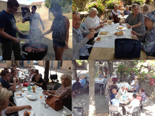 Barbecue organisé par nos étudiants                 au mois d'août 2015