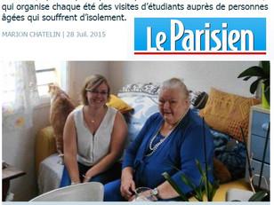 Nos étudiants dans le Parisien