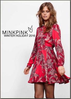 【MINK PINK ミンクピンク / 11月・12月デリ / WINTER HOLIDAY2016】情報 R'