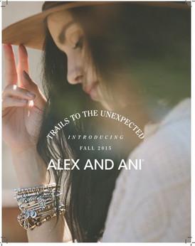【ALEX AND ANI (アレックス・アンド・アニ) FALL15】情報