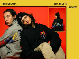 【The Hundreds / スケート・サーフ系 / Winter18 】情報