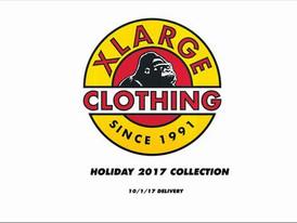 【X-LARGE エクストララージ / ストリート系 / Holiday17】情報