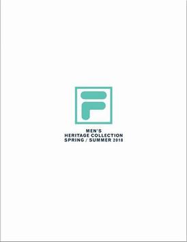 【FILA / Mens / SS2018】情報