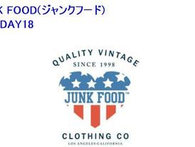【JunkFood ジャンクフード/ Holiday2018】情報
