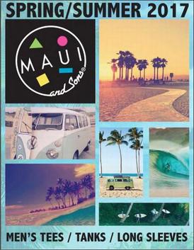 【Maui and Sons / サーフ系ブランド / SS2017】情報 R'