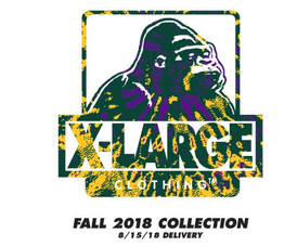 【XLARGE(エクストララージ) / FW18】情報