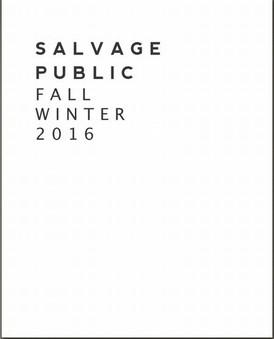 【Salvage Public / サーフ系 / ハワイ・ホノルル発 / FW2016】情報 R'
