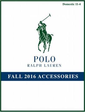 【POLO RALPH LAUREN (ポロ・ラルフ・ローレン)/ BAGS / FALL16】情報