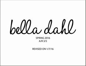 【Bella Dahl / Spring2016】情報 R'