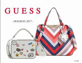 【GUESS Handbags / Holiday 2017】情報