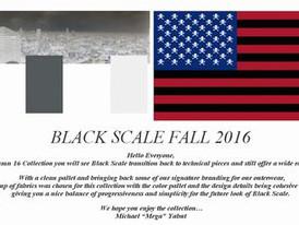 【BLACK SCALE / ストリート系 / FALL2016】情報 R'