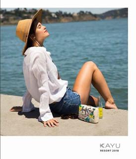 【KAYU / アクセサリー / California 発 / Resort2018】情報