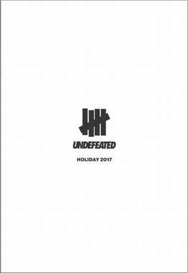 【UNDEFEATED アンディフィーテッド / ストリート系 / HOLIDAY 17】情報