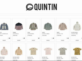 【Quintin クインティン / ストリート系 / Holiday 16  メーカー即納在庫】情報