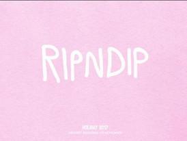 【RIPNDIP / ストリート・スケート系ブランド / Holiday17】情報