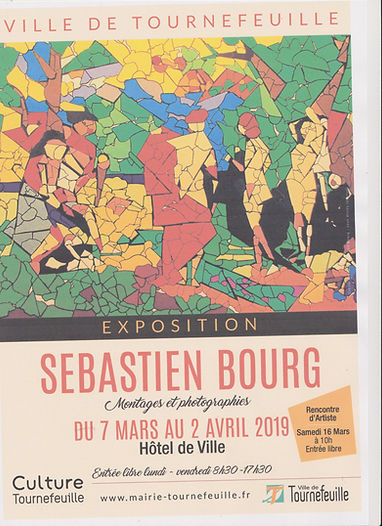affichette expo Seb Tournefeuille 2019 0