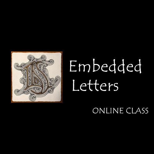 ONLINE! Embedded Letters - Sep 26