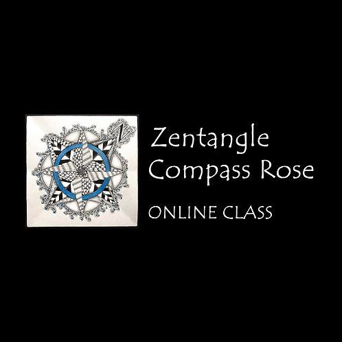 Zentangle Compass Rose - Nov 7 & 21