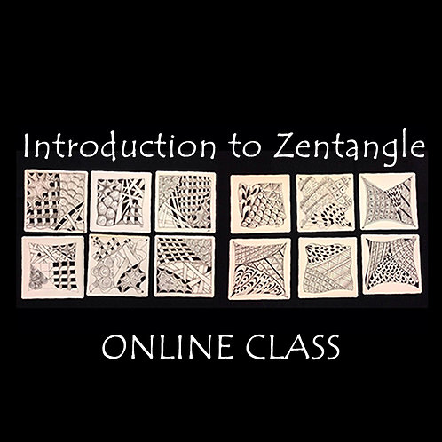 2021-06-14 ONLINE! Introduction to Zentangle