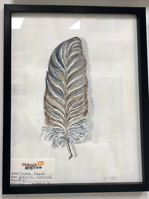 Watercolour Feather #2