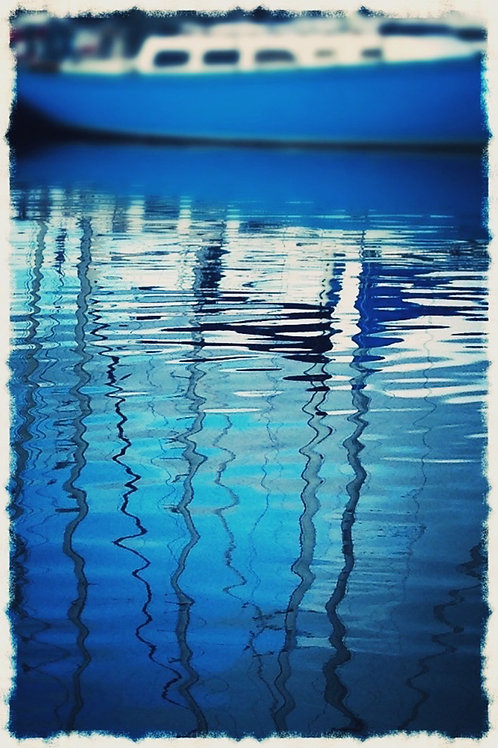 """Photo Greeting Cards - """"Ripples"""""""