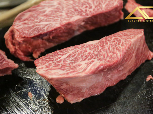 The Best Steak in The World - Dry Aged Japanese Wagyu A5 Only at AD Butcher & Steak