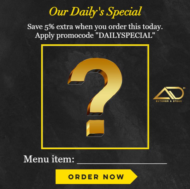 New MCO promo: Daily Special Menu