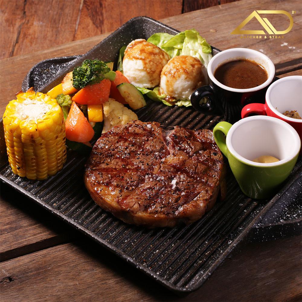 Australian Wagyu Ribeye Steak at AD Butcher & Steak