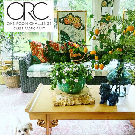 Week 6: One Room Challenge (Thrifted and Collected Furnishings)