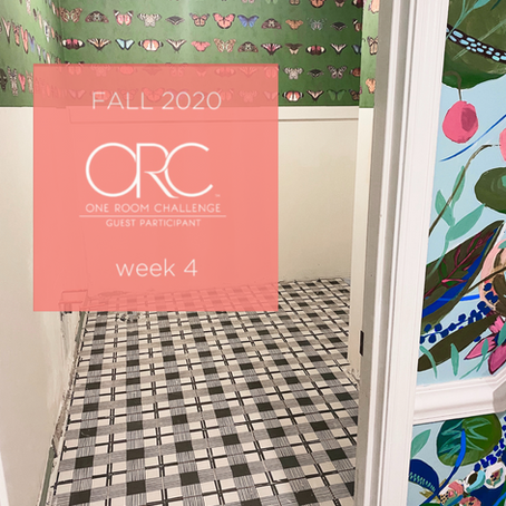 One Room Challenge: WEEK 4 The Floor