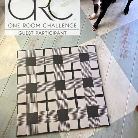 One Room Challenge: Week 3 (Tile Love)