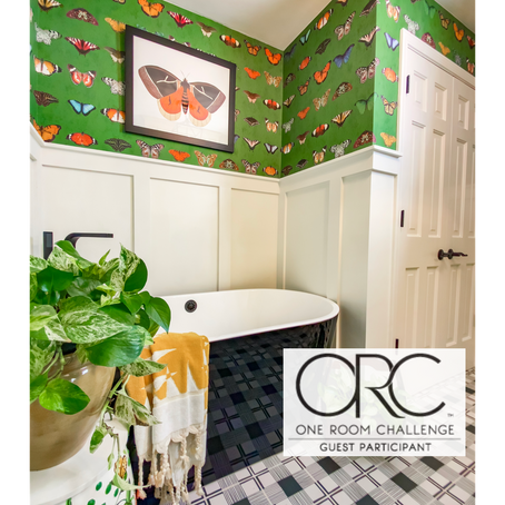 Fall 2020 One Room Challenge - Bathroom Reveal by Zig&Co