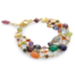 Gemstone necklace,pearl necklace,luxury British jewellery, silver,Sarah D Smith fine jewellery