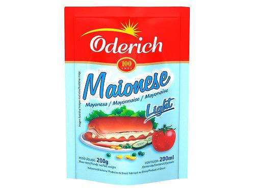 Maionese Oderich Light 200g Sachet