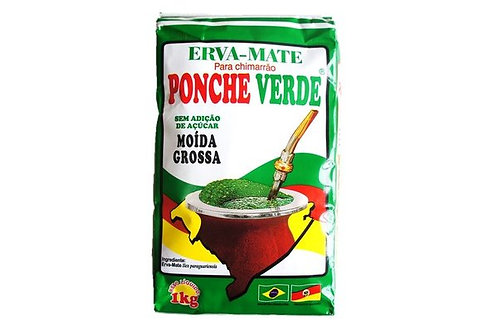 Erva Mate Ponche Verde 1KG