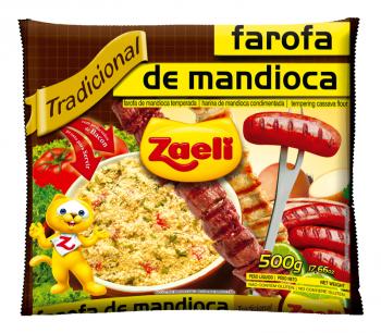 Farofa de Mandioca Zaeli