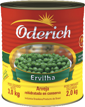 Ervilha em conserva Oderich 2 Kg
