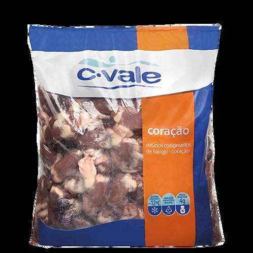 Coração de frango congelado C-Vale 1 Kg