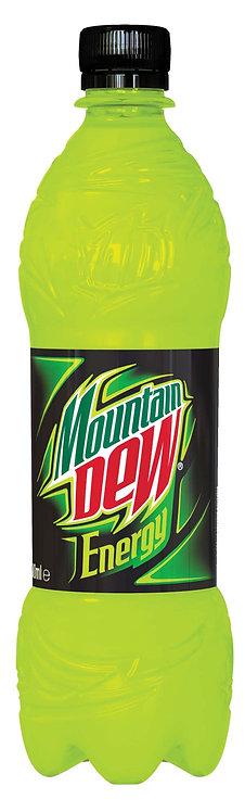 Mountain Dew Energy Sabor Cítrico 500 ML