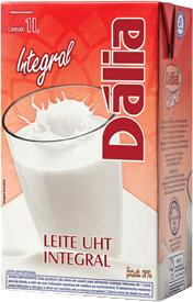 Leite Integral Dália 1L