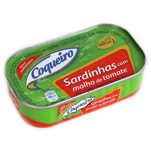 Sardinhas Com Molho de Tomate Coqueiro 125g