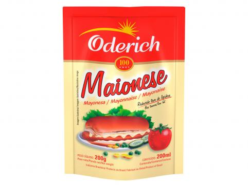 Maionese Oderich 200g Sachet