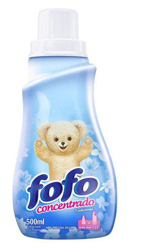 Amaciante fofo 500 ML