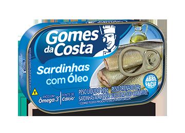 Sardinhas com Óleo 125 g