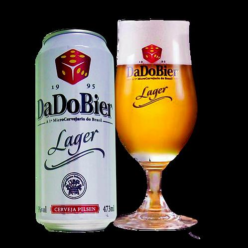 Cerveja DadoBier Lager Leve 473mL