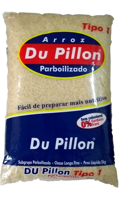 Arroz Parboilizado Du Pillon 5kg