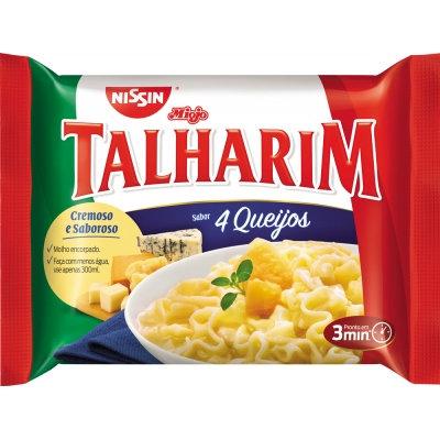 Talharim 4 Queijos