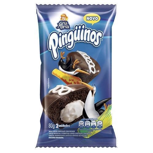 Bolo de Chocolate Pinguinos